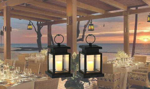 Led Solar Powered Candle Lights
