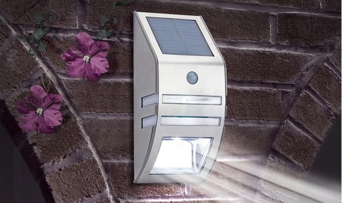 Solar Lights - LED Security Wall Lights