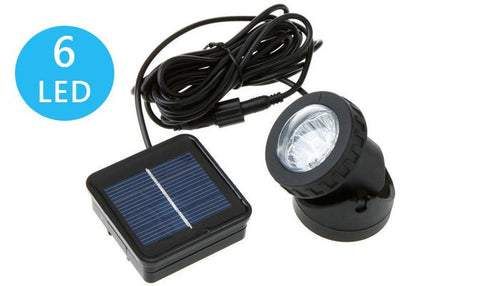 Solar Lights - Solar 6 LED Spot Lights