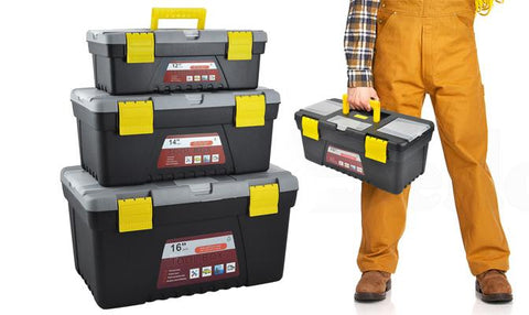 Storage - 3Pc Tool-Box Set