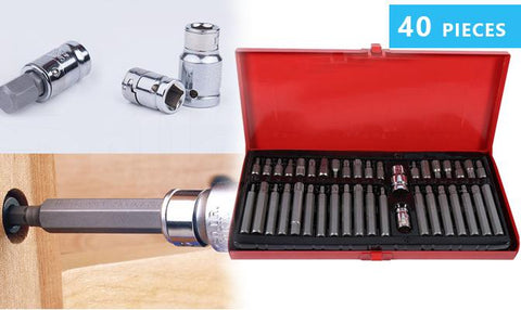 Tools & Equipment - 40Pcs Power Bit Set