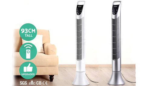 3 Speed Tower Fan with Remote Control
