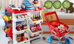 Toys - Supermarket Pretend Play Set - 24Pcs