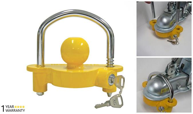 Vehicle Safety Equipment - Anti-Theft Hitch Lock