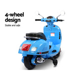 VESPA Licensed Kids Ride-On Motorcycle