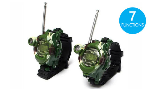 Pair of Children's Walkie Talkie Watches
