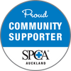 Proud Community Supporter of SPCA Auckland