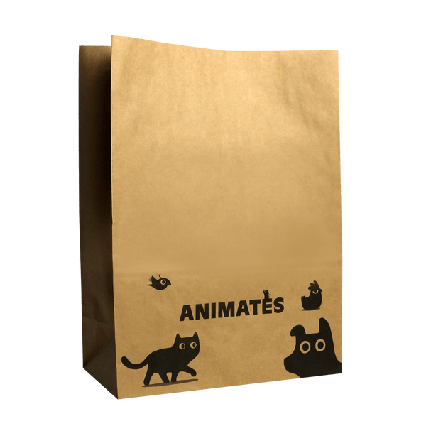 KRAFT PAPER BAG WITHOUT HANDLES
