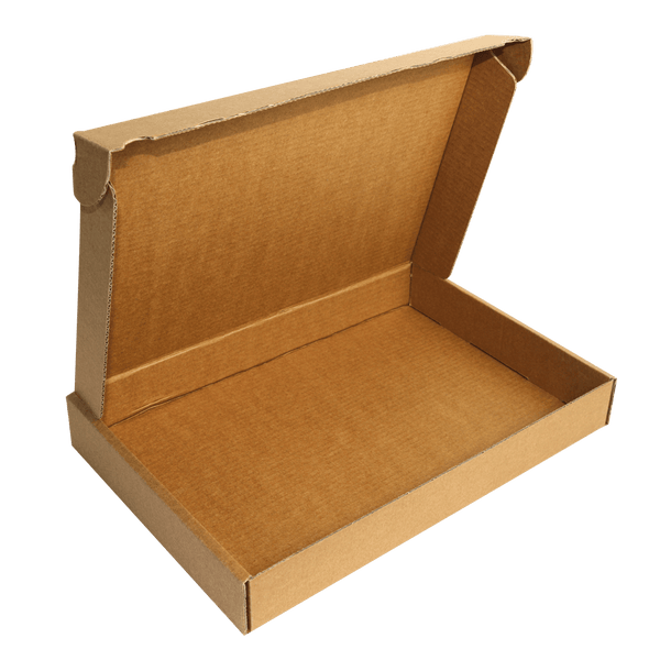 BROWN CORRUGATED CARDBOARD BOX