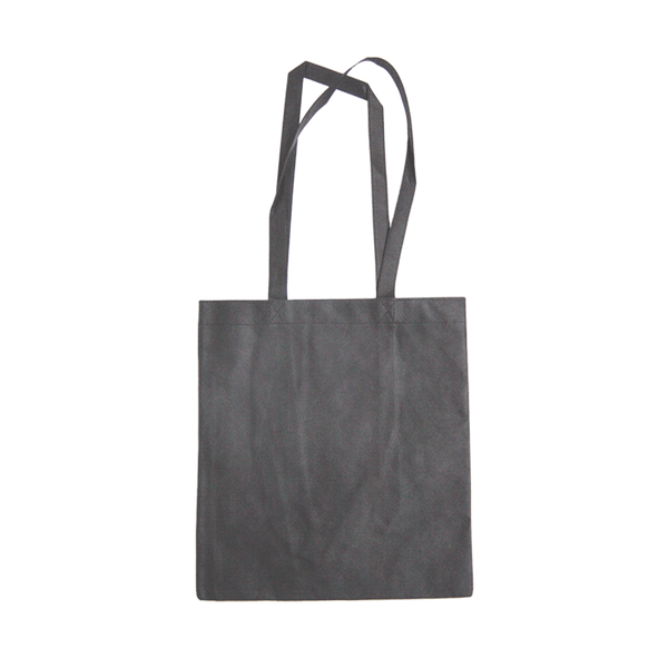 MEDIUM CHARCOAL ECO BAGS WITH LONG HANDLES - 50 UNITS