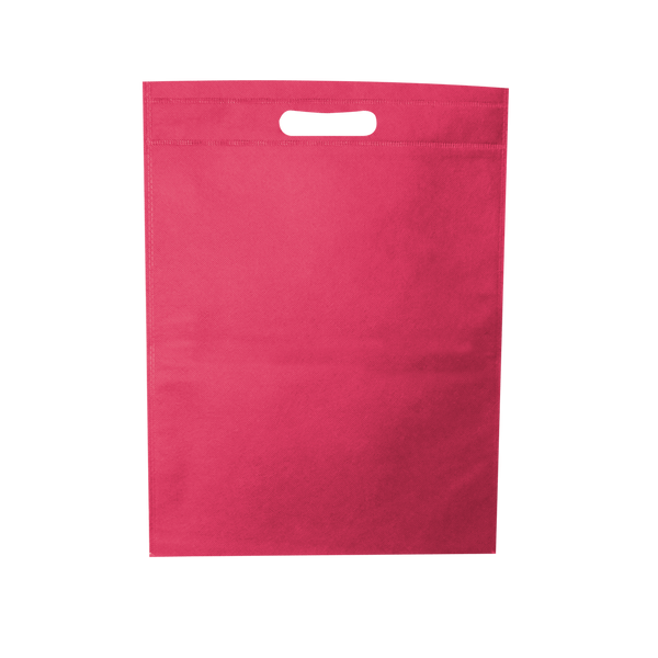 WELDED PINK ECO BAGS - 100 UNITS