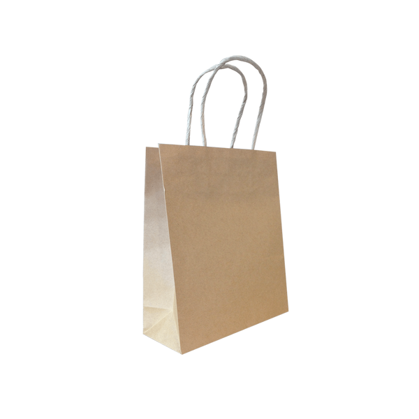 SMALL BROWN KRAFT PORTRAIT BAGS - 400 UNITS