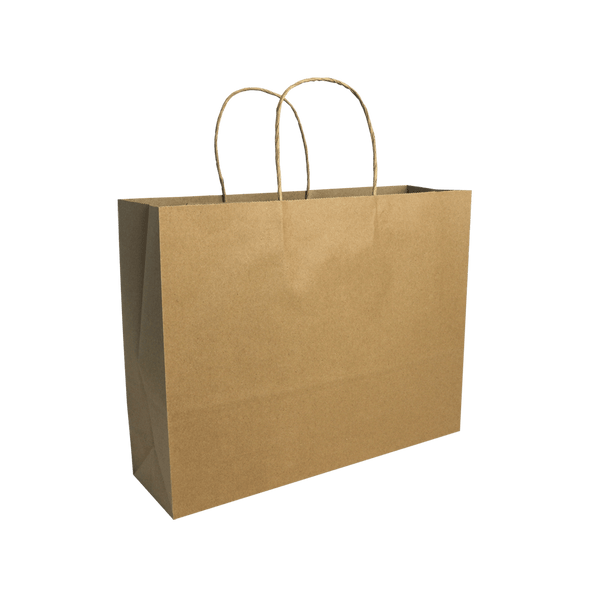 MEDIUM BROWN KRAFT LANDSCAPE BAGS NEW SIZE - 250 UNITS