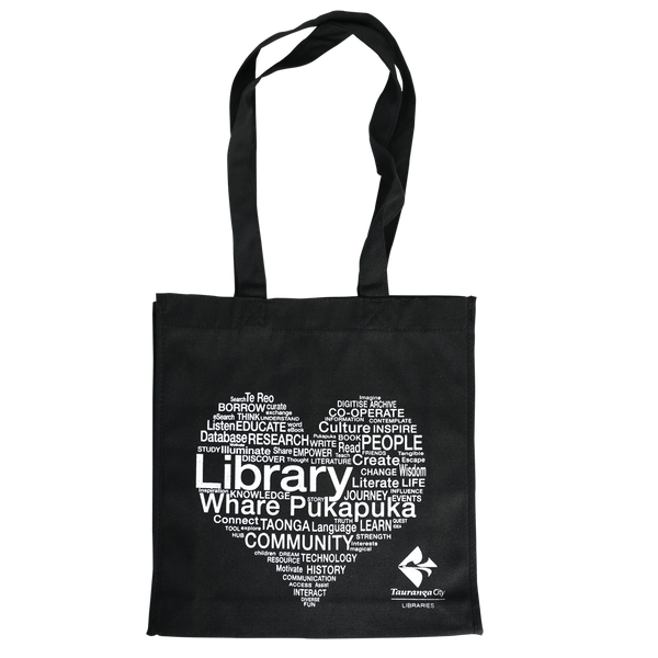 CALICO ECO LIBRARY BAG