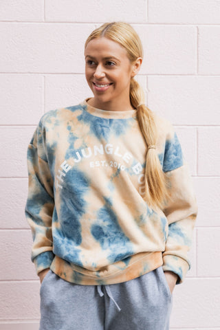 The Jungle Body Tie Dye Jumper - DISPATCH 1ST OCTOBER