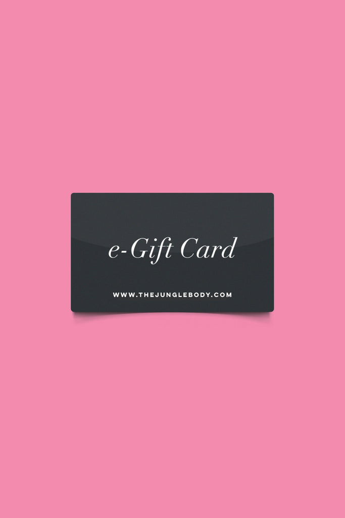 The Jungle Body® Gift Card