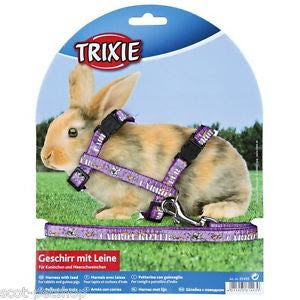 Small Animal Rabbit Harness with lead
