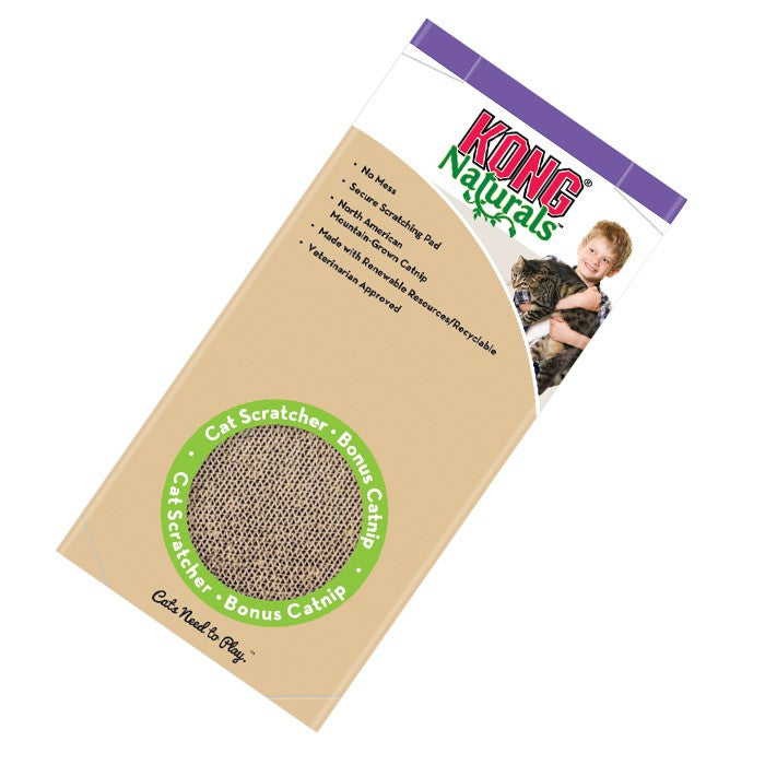 Cat Kong Naturals Scratcher Double
