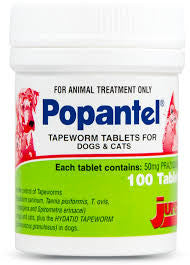 Popantel Tapeworm ONLY tabs - PER TABLET