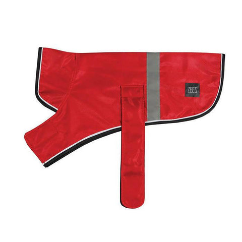 Dog Coat - Zeez Dapper Dog Apple Red