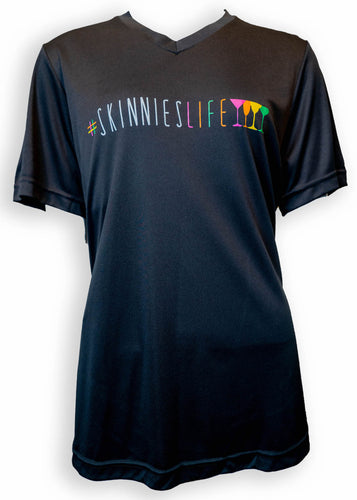 #SkinniesLife short sleeve t-shirt