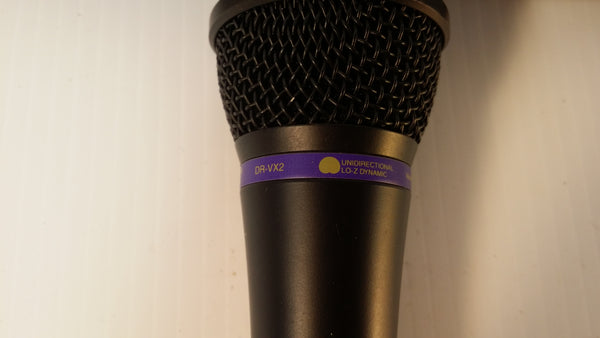 Mic Audio-Technica DR-VX2, With Case. #0303 - silvereagleaudio.com
