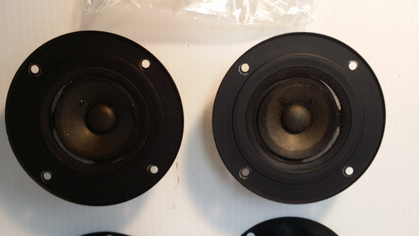Realistic Tweeter Speakers NOVA-6 #735, Pair, Japan, Working. #0306 - silvereagleaudio.com