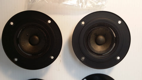 Realistic Tweeter Speakers NOVA-6 #735, Pair, Japan, Working. #0306