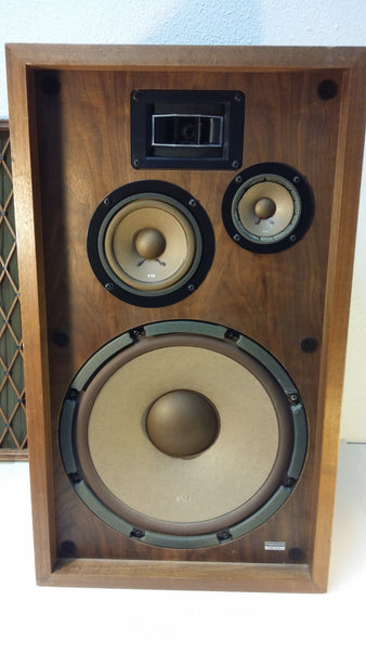 Pioneer Speaker CS-77A, Wood Box and Grill. #0309 - silvereagleaudio.com