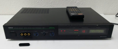 Yamaha DSP-1 Digital Sound Field Processer w/Remote, in Box, Works. #0308