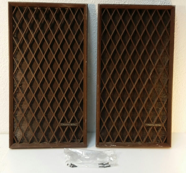 Speaker Covers NOVA-6, Cat# 40-4019A, Pair, Japan. #0307 - silvereagleaudio.com