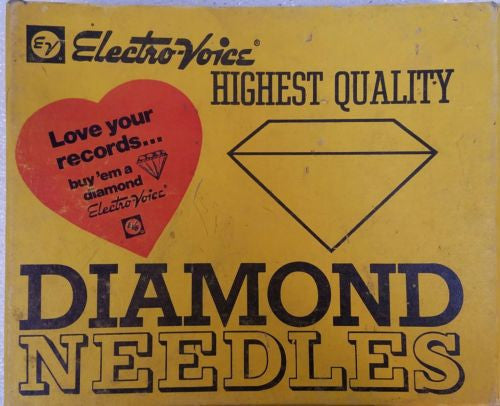 Electro-Voice  Diamond Needles  DISPLAY BOX  ONLY