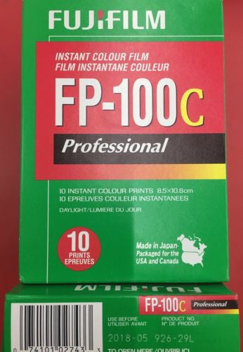 Fuji Fujifilm Fp-100c Instant Film, 10 Exposure for Polaroid 5/2018