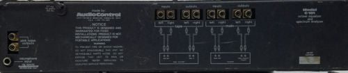 Audio Control  C-101  Equalizer