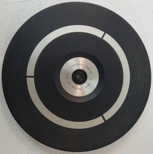 BSR Sound Design 435 (and others)  Turntable platter * Parts Only* - silvereagleaudio.com