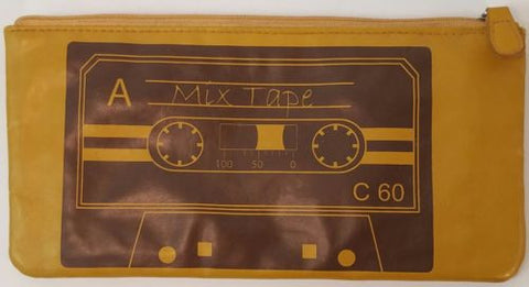 Vintage Retro Cassette Tape Purse Wallet