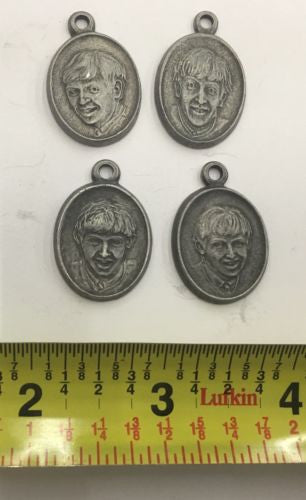 Beatles METAL PEWTER PENDANTS SET OF 4! - silvereagleaudio.com