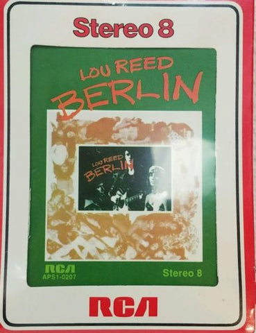 Lou Reed Berlin 8 track *NEW* Sealed!