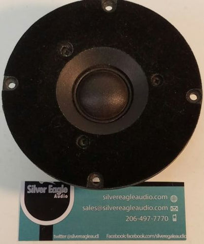 Delquest DQ-8 Speakers parting out One 1 Tweeter - silvereagleaudio.com