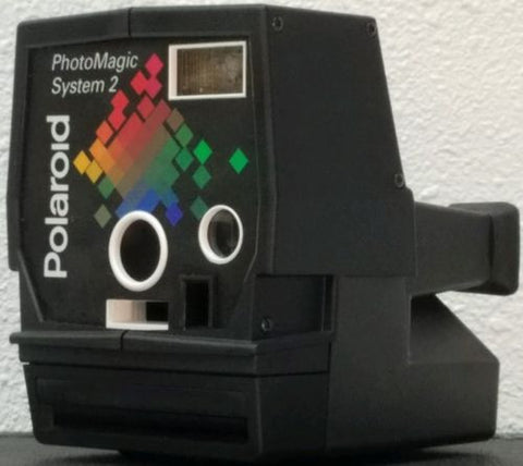 Polaroid Camera PhotoMagic System 2 + Case - Silver Eagle Audio