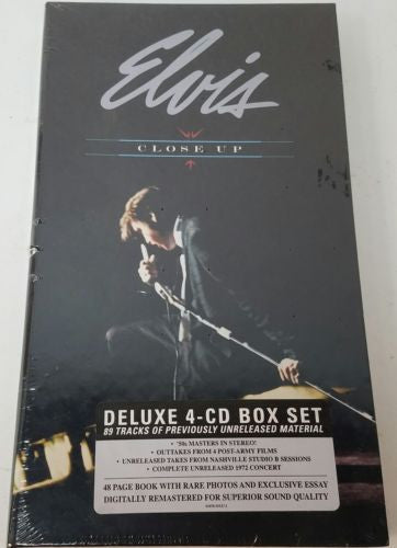 Elvis Close Up Deluxe 4-CD Box Set  *New in package*