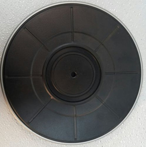 York Q/100 Turntable platter Parts Only - silvereagleaudio.com