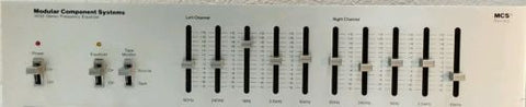 Modular Component Systems 3030  Stereo Frequency Equalizer - Silver Eagle Audio