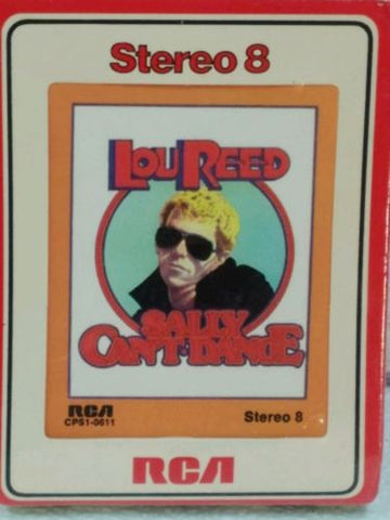 Lou Reed Sally Can't Dance  8 track *NEW* Sealed!