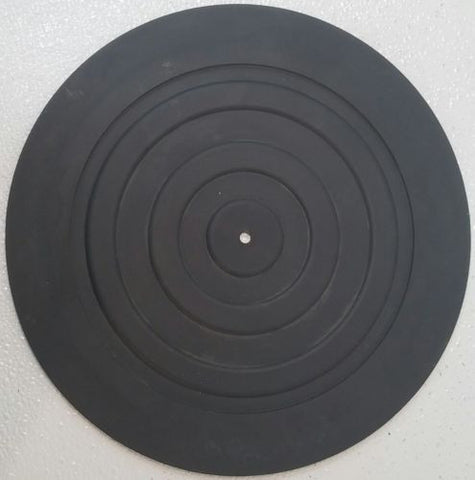 Kenwood  KD-1033  Rubber Turntable Mat - Silver Eagle Audio