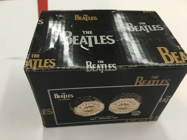 BEATLES SGT PEPPERS DRUM SALT AND PEPPER SET - silvereagleaudio.com