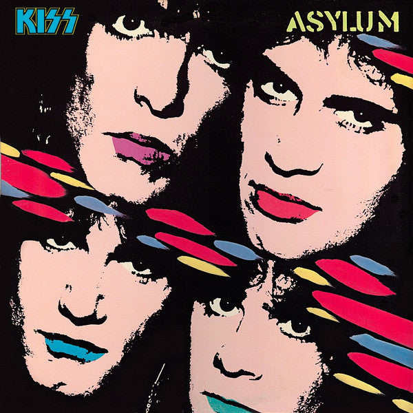 Kiss ‎– Asylum - Silver Eagle Audio