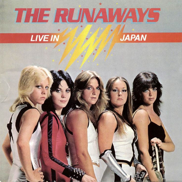 The Runaways ‎– Live In Japan New CD