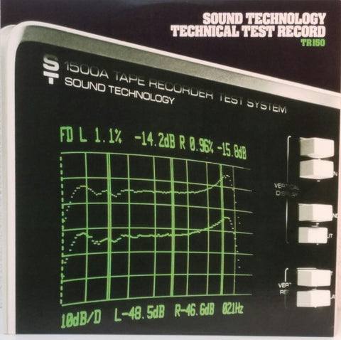 Sound Technology ‎– Technical Test Record Tr150 - silvereagleaudio.com