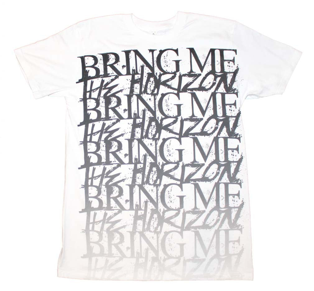 Bring me the Horizon Stacked Logo T-Shirt - silvereagleaudio.com